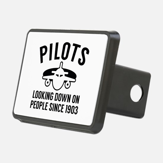 Pilots Looking Down Hitch Cover