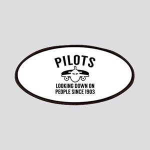 Pilots Looking Down Patches