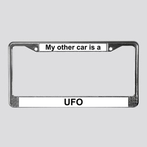 My other car is a UFO License Plate Frame