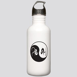 Bike-Ski Yin Yang Stainless Water Bottle 1.0L
