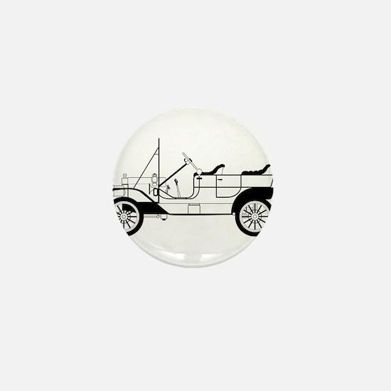 Classic Automobile Mini Button