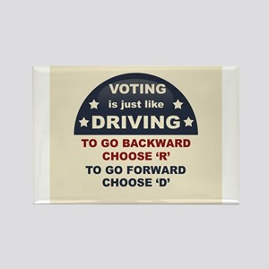 Voting Like Driving Magnets
