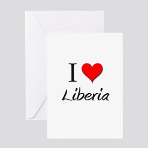 I Love Lesotho Greeting Card