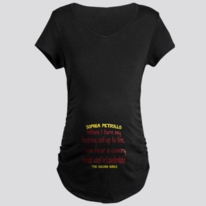 Golden Girls Sophia Quote B Maternity Dark T-Shirt
