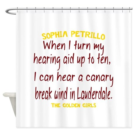 Golden Girls Sophia Quote Break Win Shower Curtain By Thought Provoking Shirts