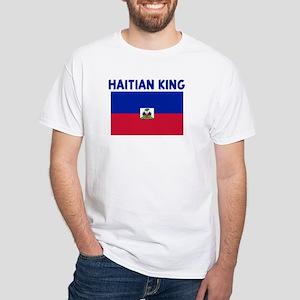 HAITIAN KING White T-Shirt
