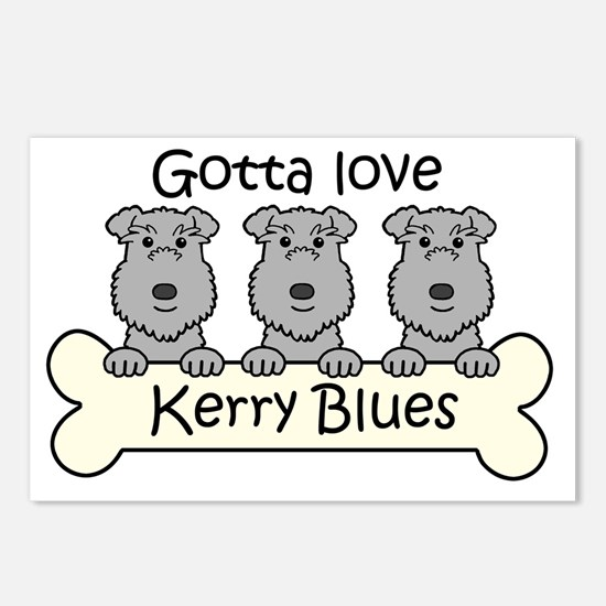 Funny Love is cartoons Postcards (Package of 8)
