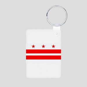 Washington DC State Flag Keychains