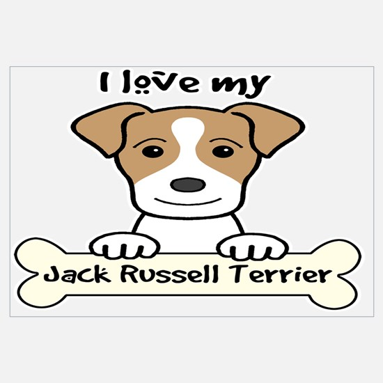 Unique Jack russell terrier Wall Art