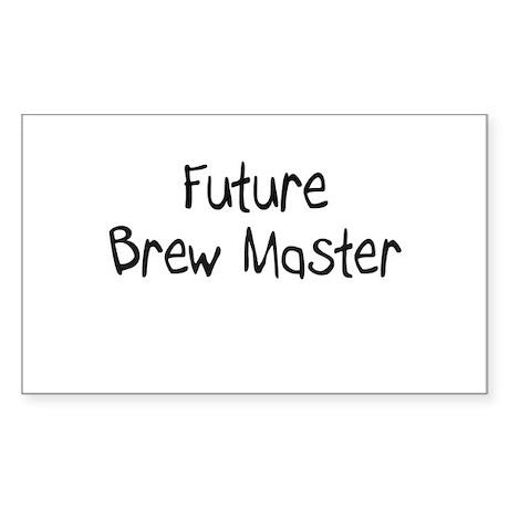 Future Brew Master Rectangle Sticker