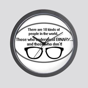 10 kinds of people Wall Clock