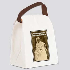 Harriet Tubman Inspires Dreamers Canvas Lunch Bag