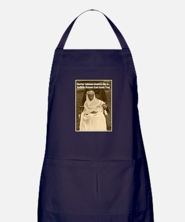 Harriet Tubman Inspires Dreamers Apron (dark)