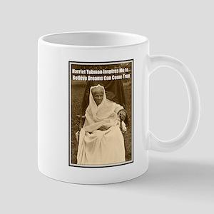 Harriet Tubman Inspires Dreamers Mugs