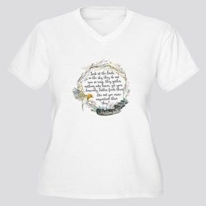 Birds in the Sky Plus Size T-Shirt
