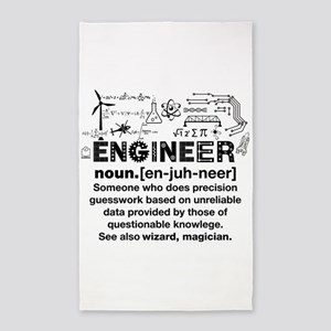 Engineer Funny Definition Area Rug