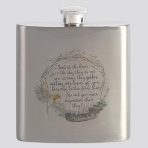 Birds in the Sky Flask