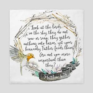 Birds in the Sky Queen Duvet