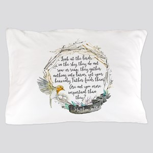 Birds in the Sky Pillow Case