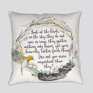 Birds in the Sky Everyday Pillow