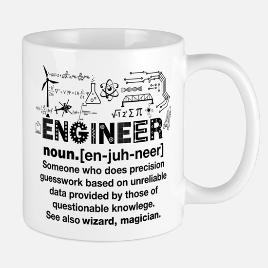 Engineer Funny Definition Mugs