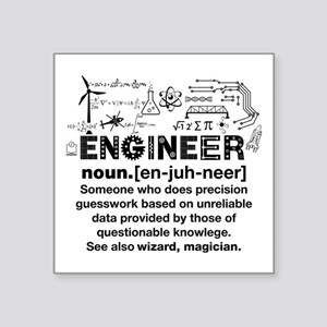Engineer Funny Definition Sticker