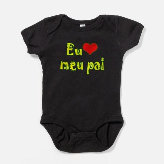 Cute Brazil Baby Bodysuit