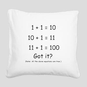 2-Got it Square Canvas Pillow