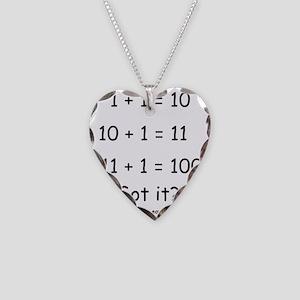 2-Got it Necklace Heart Charm