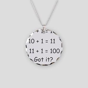 2-Got it Necklace Circle Charm