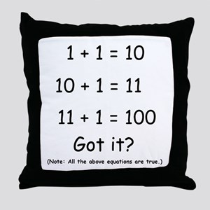 2-Got it Throw Pillow