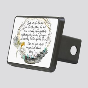 Birds in the Sky Rectangular Hitch Cover