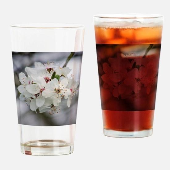 Cute Blossom Drinking Glass