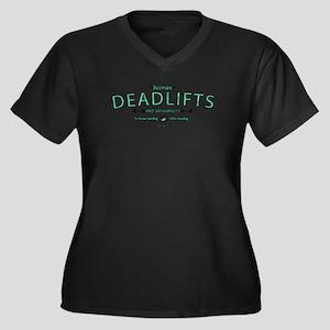 Between Deadlifts & Doughnuts Plus Size T-Shirt