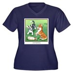 The Watching Plus Size T-Shirt