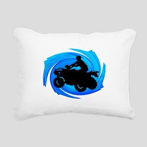 ATV Rectangular Canvas Pillow