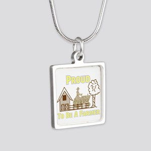 Proud To Be A Farmer Necklaces