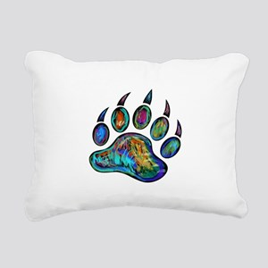 TRACKS Rectangular Canvas Pillow
