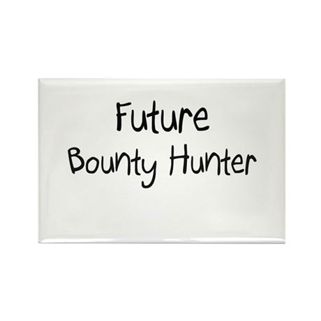 Future Bounty Hunter Rectangle Magnet (10 pack)