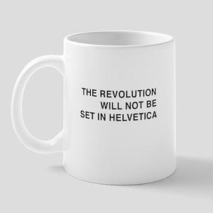 Helvetica Revolution Mug