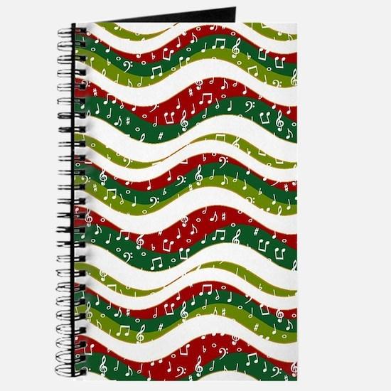 Christmas waves and music Journal