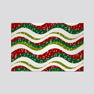 Christmas waves and music Magnets