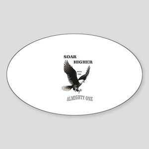 almighty soar highest Sticker