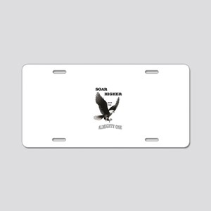 almighty soar highest Aluminum License Plate