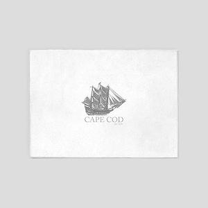 Cape Cod Est. 1620 Schooner 5'x7'Area Rug