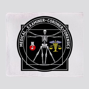 Medical Examiner Throw Blanket