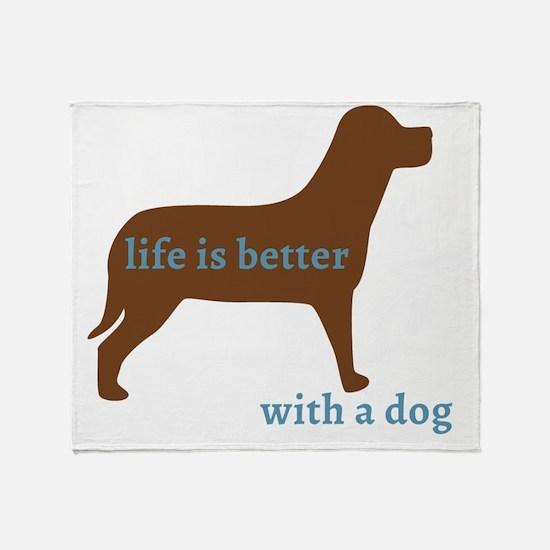 Unique Funny dog Throw Blanket