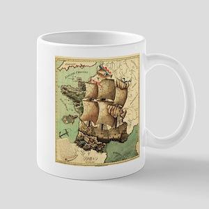 Ancient Map Mug