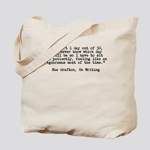 Sue Grafton - On Writing Tote Bag