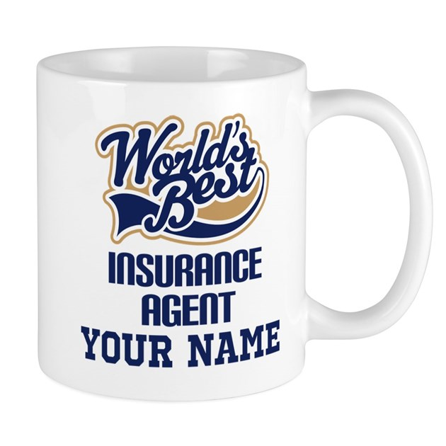 Insurance Agent Personalized Gift Mugs by jobtees2